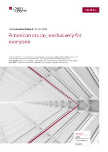 American crude, exclusively for everyone cover image