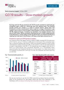 2019-11-18 Natural Gas - North America - Q3 19 results – Slow-motion growth cover