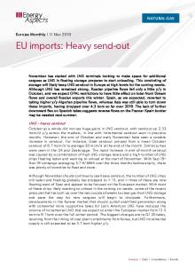 2019-11-08 Natural Gas - Europe - EU imports: Heavy send-out cover