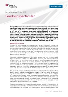 2019-11-11 Natural Gas - Europe - Sendout spectacular cover