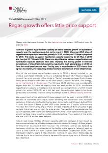 Regas growth offers little price support cover image