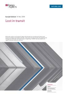 2019-11-14 Natural Gas - Europe - Lost in transit cover