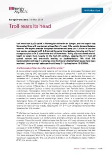 2019-11-18 Natural Gas - Europe - Troll rears its head cover