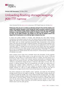 Unloading floating storage keeping JKM-TTF narrow cover image