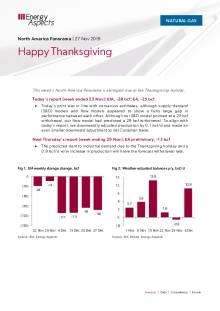 2019-11-27 Natural Gas - North America - Happy Thanksgiving cover