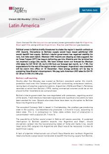 2019-11-28 Natural Gas - Global LNG - Latin America cover