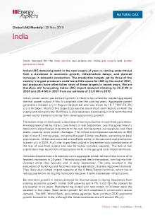 2019-11-29 Natural Gas - Global LNG - India cover