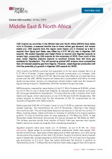 2019-11-29 Natural Gas - Global LNG - Middle East & North Africa cover