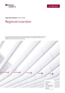 2019-11 Oil - Light ends Outlook - Regional overview cover