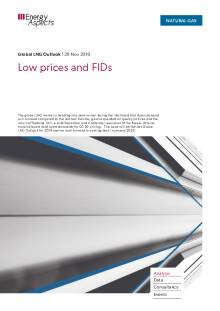 2019-11-29 Natural Gas - Global LNG - Low prices and FIDs cover