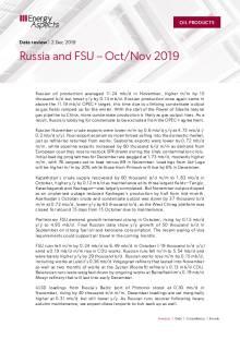 Russia and FSU – Oct/Nov 2019 cover image