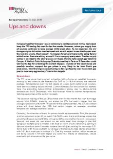 2019-12-02 Natural Gas - Europe - Ups and downs cover