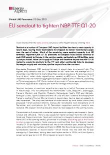 2019-12-10 Natural Gas - Global LNG - EU sendout to tighten NBP-TTF Q1-20 cover