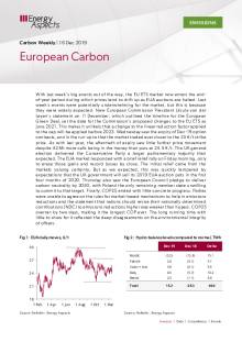 2019-12-16 Emissions - Carbon weekly - European Carbon cover