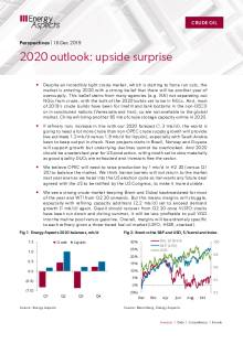 2019-12-16 Oil - Perspectives - 2020 outlook: upside surprise cover