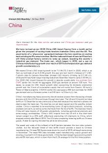 2019-12-24 Natural Gas - Global LNG - China cover
