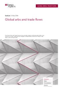 2019-12 Global arbs and trade flows - Outlook cover