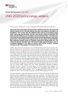 2020-01-14 Natural Gas - Global LNG 2020 price range widens cover