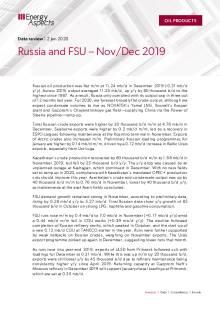 Russia and FSU – Nov/Dec 2019 cover image