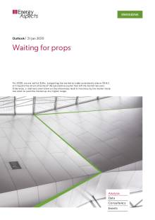 Waiting for props cover