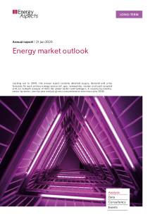 Energy market outlook cover image