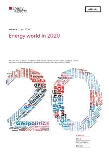 In Focus - Energy world in 2020 cover