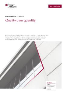 Quality over quantity cover image