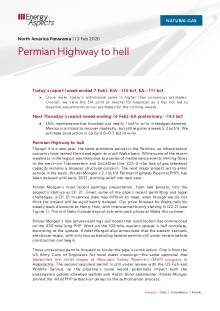 Permian Highway to hell cover image