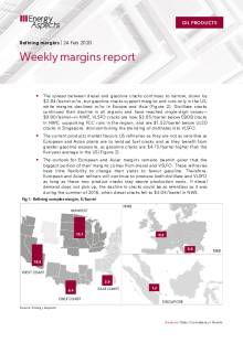 Weekly margins report