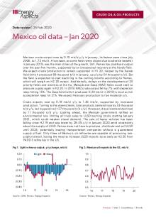 Mexico oil data – Jan 2020 cover image