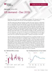 US demand – Dec 2019 cover image