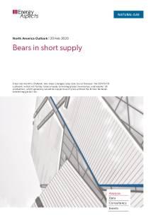 Bears in short supply