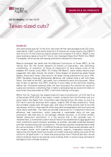 Texas-sized cuts? cover image