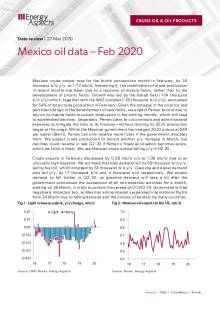 Mexico oil data – Feb 2020 cover image