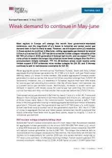 Weak demand to continue in May-June cover image