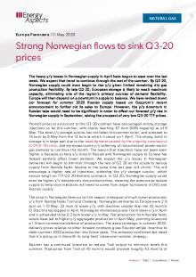 Strong Norwegian flows to sink Q3-20 prices cover image