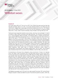 Williston woes cover image