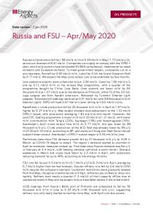 Russia and FSU – Apr/May 2020 cover image