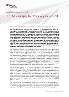 EU LNG supply to drop y/y in Q3 20 cover