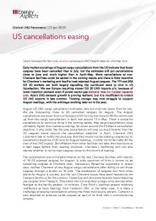 US cancellations easing cover image