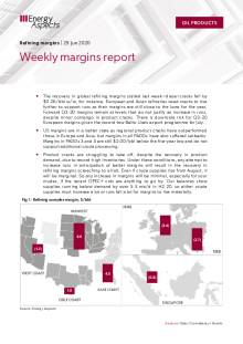Weekly margins report cover image