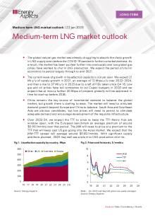 Medium-term LNG market outlook cover image