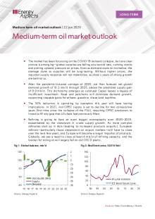 Medium-term oil market outlook cover image