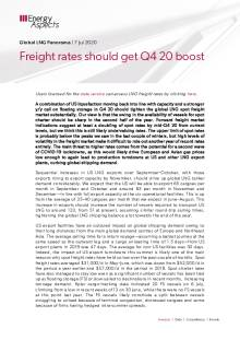 Freight rates should get Q4 20 boost cover image