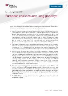 European coal closures: Long goodbye cover image