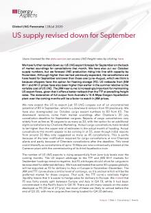 US supply revised down for September cover