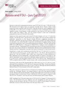 Russia and FSU – Jun/Jul 2020 cover image