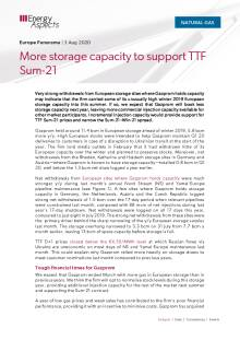 More storage capacity to support TTF Sum-21 cover image
