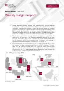 Weekly margins report