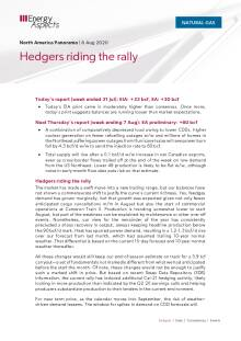 Hedgers riding the rally cover image